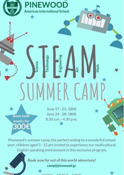 STEAM SUMMER CAMP! - Pinewood - Pinewood