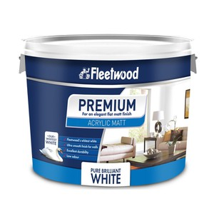 Fleetwood Premium Acrylic Matt Emulsion Paint