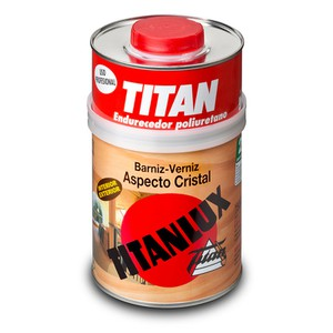 Titanlux Varnish Crystal Finish Aspecto Cristal TITAN