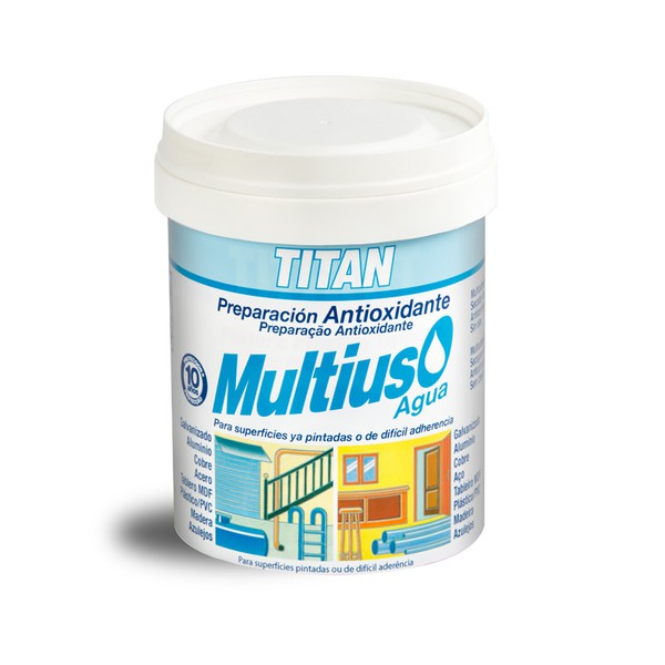 Multi-Purpose Water-based Primer Multiuso Agua TITAN