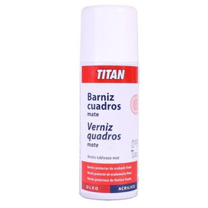 Spray Gloss Picture Varnish TITAN