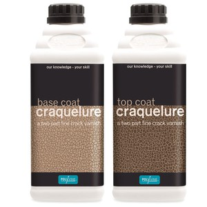 Craquelure System crack effect varnish POLYVINE