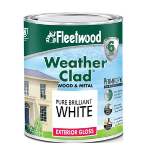 Weather Clad Wood and Metal Exterior Gloss FLEETWOOD