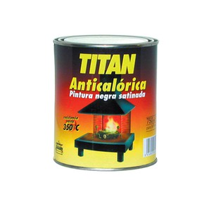 Heat Resistant Paint (Black) TITAN