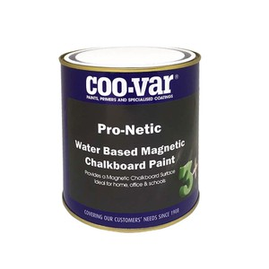 Pro-Netic Water Based Magnetic Chalkboard Paint