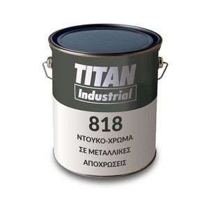 Metallized Enamel Gloss Metallic 818 TITAN