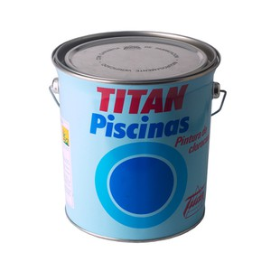 Swimming pool paint Chlorinated Rubber Titan