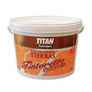 Tintoretto Decorative paint tierras effect TITAN