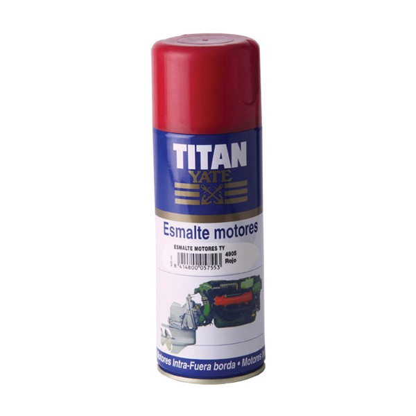 Spray Motor Paint TITAN YATE