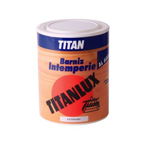 Titanlux Water-based outdoor Varnish TITAN