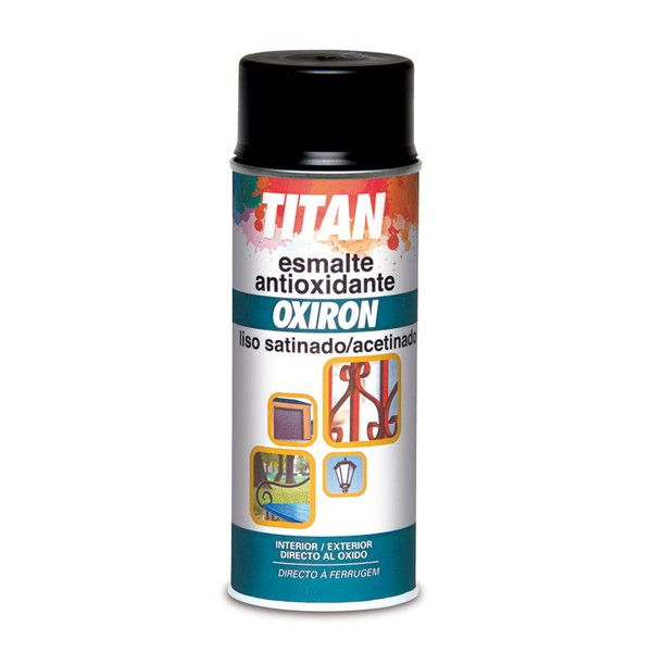 Oxiron Liso Smooth Oxiron Rust Preventive Paint Spray TITAN
