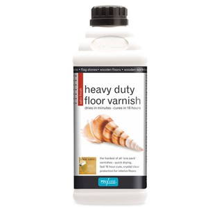 Floor Varnish heavy duty satin POLYVINE