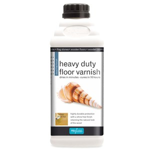 Floor Varnish hardwearing dead flat finish POLYVINE