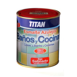 TITAN Tile Enamel for Bathrooms and Kitchens