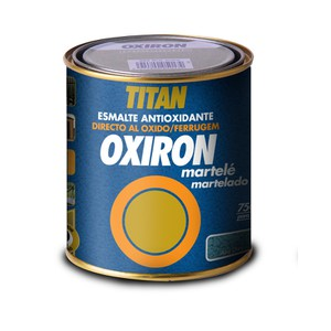 Anticorrosive paint Hammered Effect Oxiron Martele TITAN