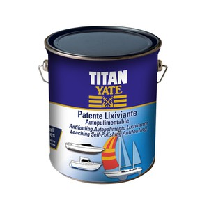 Self polishing Anti-fouling Paint Lixiviante TITAN YATE