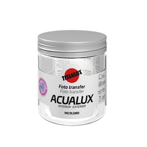 Acualux Varnish Photo Transfer