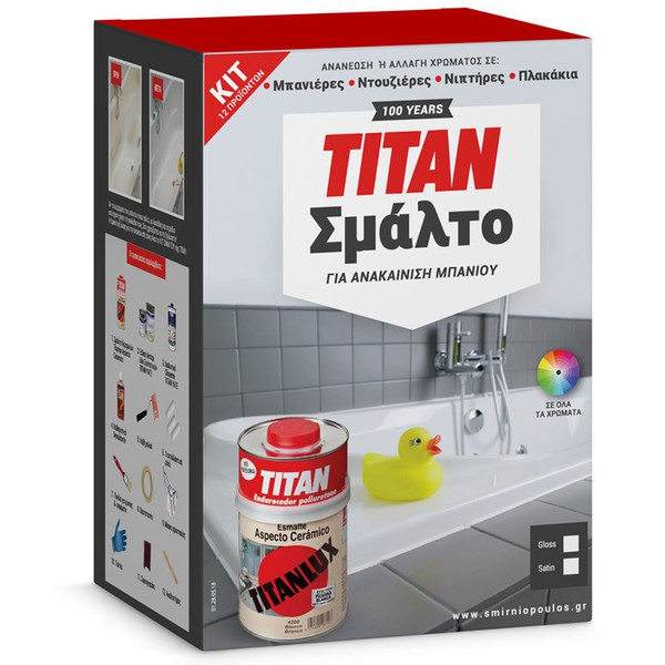 Kit for Bathtub and Tiles Renovation TITAN