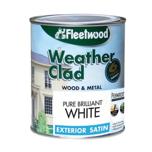 Weather Clad Wood and Metal Exterior Satin FLEETWOOD