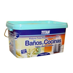 TITAN Paint for Bathrooms and Kitchens